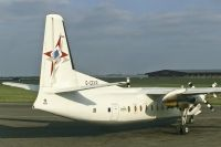 Photo: Channel Express, Fokker F27 Friendship, G-CEXB
