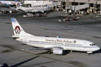 Photo: America West Airlines, Boeing 737-300, N155AW