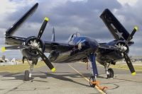 Photo: Untitled, Grumman F7F Tigercat, NX6178C