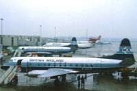 Photo: British Midland Airways, Vickers Viscount 800, G-AZLP
