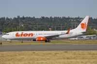 Photo: Lion Airlines, Boeing 737-900, PK-LHV