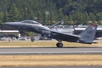 Photo: United States Air Force, McDonnell Douglas F-15 Eagle, 91-0328