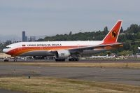 Photo: TAAG Angola Airlines, Boeing 777-200, D2-TEF