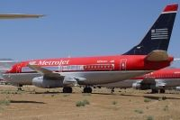 Photo: MetroJet, Boeing 737-200, N254AU