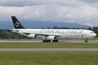 Photo: Air Canada, Airbus A340-200/300, C-FDRO