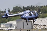 Photo: Untitled, McDonnell Douglas MD-500, N520NT