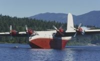 Photo: Forest Industries Flying Tankers, Martin JRM-3 Mars, C-FLYK