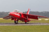 Photo: Royal Air Force, Folland Gnat, XP502