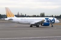 Photo: Ted, Airbus A320, N407UA