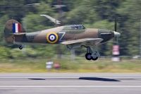 Photo: Untitled, Hawker Hurricane, NX54FH