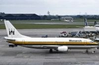 Photo: Monarch Airlines, Boeing 737-300, G-EURP