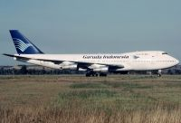 Photo: Garuda Indonesia, Boeing 747-200, PK-GSA