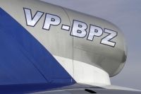 Photo: Peter Nygard, Boeing 727-100, VP-BPZ