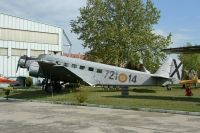 Photo: Spanish Air Force, Junkers Ju52, 72114