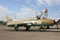 Photo: Libyan Air Force, Sukhoi Su-22 Fitter, 304