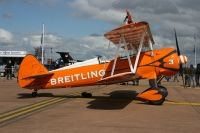 Photo: Breitling wingwalkers, Boeing PT-17 Stearman, N707TJ