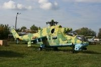 Photo: Ukrainian Air Force, Mil Mi-24 Hind, Yellow 72