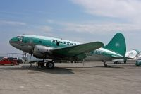 Photo: Buffalo Airways, Curtiss C-46 Commando, C-FAVO