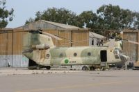 Photo: Libyan Air Force, Boeing CH-47 Chinook, LC-004