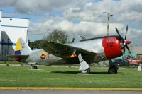 Photo: Fuerza Aerea Colombiana- FAC, Republic P-47 Thunderbolt, FAC 861