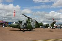 Photo: Royal Marines, Westland Lynx, XZ612