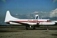 Photo: Kitty Hawk, Convair CV-640, N866TA