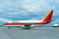 Photo: Orion Airways, Boeing 737-200, G-BKMS