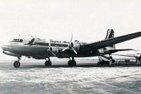 Photo: Capital Airlines, Douglas DC-4