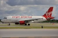 Photo: Virgin America, Airbus A319, N523VA