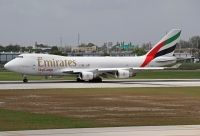 Photo: Emirates SkyCargo, Boeing 747-400, N408MC