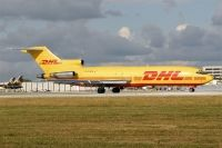 Photo: DHL, Boeing 727-200
