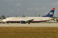 Photo: US Airways, Boeing 737-400, N434US