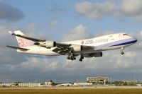 Photo: China Airlines Cargo, Boeing 747-400, B-18709
