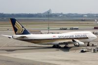 Photo: Singapore Airlines, Boeing 747-400, 9V-SPQ