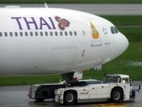 Photo: Thai Airways International, Airbus A340-600, HS-TND