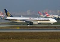 Photo: Singapore Airlines, Boeing 777-200, 9V-SVJ