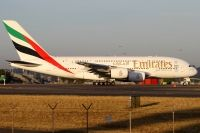 Photo: Emirates, Airbus A380, A6-EDA