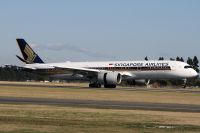 Photo: Singapore Airlines, Airbus A350, 9V-SMC