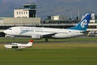 Photo: Air New Zealand, Boeing 737-300, ZK-NGE