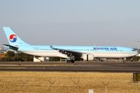 Photo: Korean Air, Airbus A330-300, HL7587