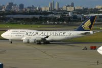 Photo: Singapore Airlines, Boeing 747-400, 9V-SPP