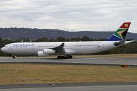 Photo: South African Airways, Airbus A340-200/300, ZS-SXE