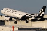 Photo: Air New Zealand, Airbus A320, ZK-OJS
