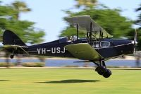 Photo: Privately owned, De Havilland DH-83 Fox Moth, VH-USJ