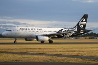 Photo: Air New Zealand, Airbus A320, ZK-OJB