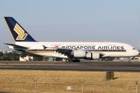 Photo: Singapore Airlines, Airbus A380, 9V-SKA