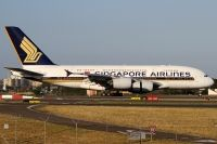 Photo: Singapore Airlines, Airbus A380, 9V-SKE