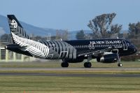 Photo: Air New Zealand, Airbus A320, ZK-OAB
