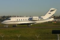 Photo: Wellard Aviation, Canadair Challenger, VH-MZL