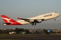 Photo: Qantas, Boeing 747-400, VH-OJT